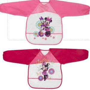 0-12 meses Rosa 2 baberos y 2 pa/ñuelos para beb/é ni/ña rosa TU Talla /Única Minnie Set de capa de ba/ño